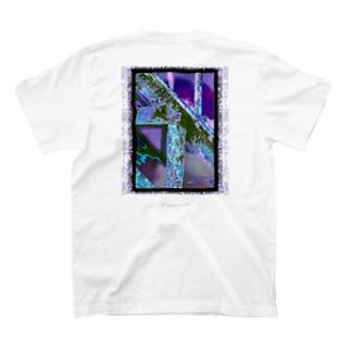 錆びて剥がれて灼熱 ~ パープル T-shirts