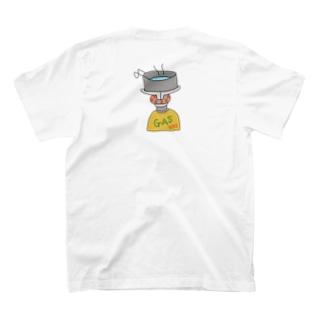 ソロキャン 必須アイテムはガス!  T-shirts