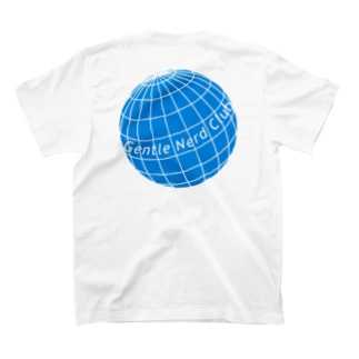 planet GNC / blue T-shirts