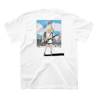 【バックプリント】ななみちゃん(ベース) T-shirts