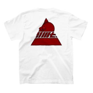 YMT.トライアングルロゴ『蛸』 T-shirts