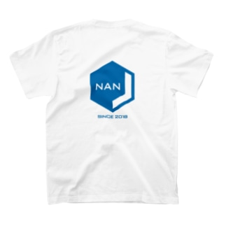 NANJCOIN公式ロゴ入り(背面) T-shirts