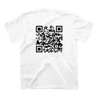 NANJCOIN公式サイトQRコード入り T-shirts