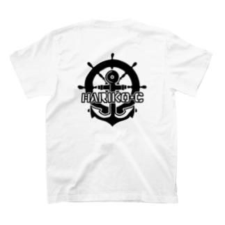【黒ロゴVer】全力はりこ T-shirts