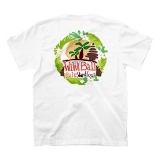 WIWIBALI ロゴマーク Tシャツ T-shirts