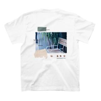 Break time here. T-shirts