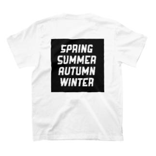 4 seasons T-shirts