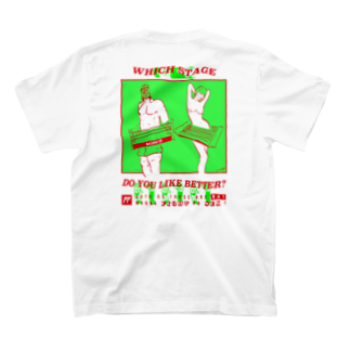 NATUのfight or sxx T-shirtsの裏面