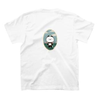 パンダのWICKY T-shirts