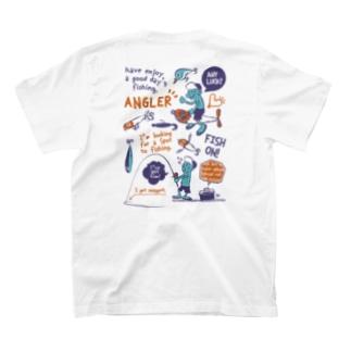 釣りに行きませんか?_レトロ T-shirts