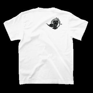 壱の天風(いちのてんぷう)の身に纏うお守り【とっておきな翁】 T-shirtsの裏面