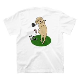 ナイスショット(背面) T-shirts