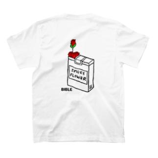 シガレットフラワー T-shirts