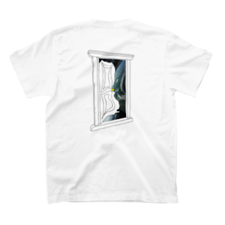 slip_out_of_the_worldのSLIP OUT OF THE WORLD  T-shirtsの裏面