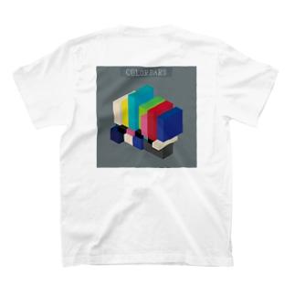 立体カラーバー T-shirts