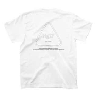 Hg17 T-shirt 01 white ver. T-shirts
