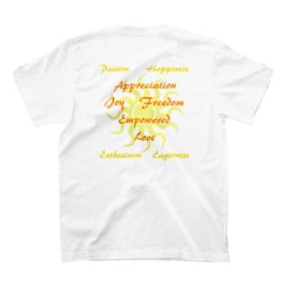 ハッピーになれそう☆(両面プリント) T-shirts