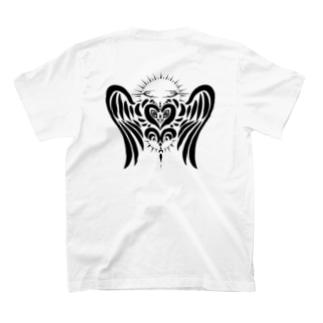 ハートの天使 T-shirts