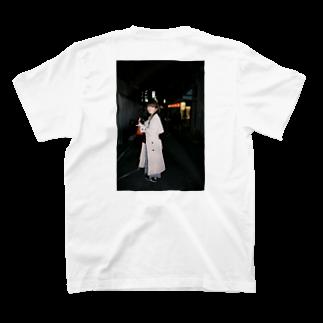 石川のてやん 先斗町 T-shirtsの裏面