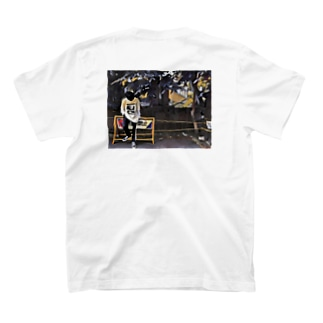 IndecisioN back print T-shirt T-shirts