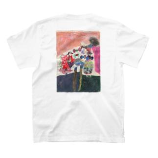 (backのみ)ひと T-Shirt