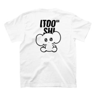 ITOOKASHI(BLACK) T-shirts