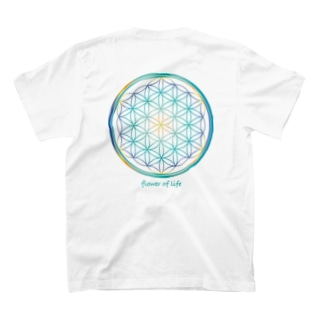 flower of life mix A T-shirts