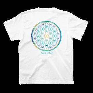 Botan Riceのflower of life mix A T-shirts