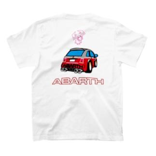 ビコちゃん白文字 T-shirts