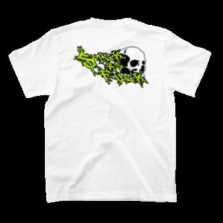 IT DesignのSkull Sick T-shirtsの裏面