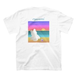 oyasumimimi(背面のみ) T-shirts