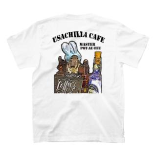 うさチラカフェスタッフアイテム T-shirts