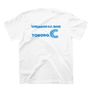 茅ヶ崎どうでしょう TOKORO.C 薄青※背面 T-shirts