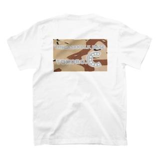 茅ヶ崎どうでしょうエボシラインTシャツ TOKORO.C カモフラ03 ※背面 T-shirts