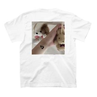 ぬいぐるみランドとパンダのタトゥー T-shirts