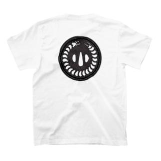 刀剣鍔 百足 T-shirts