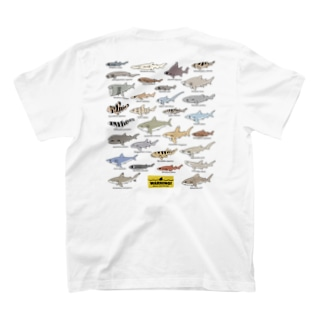 Sharks30(color)1.1 バックプリント T-Shirt