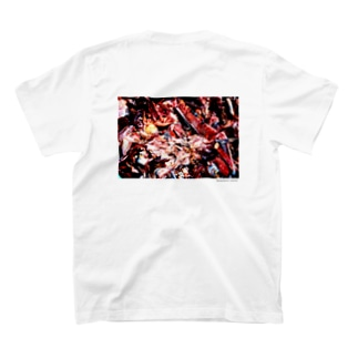Icon_Orange_背中 T-shirts