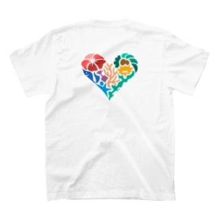 おきなわLikes 両面デザイン T-shirts