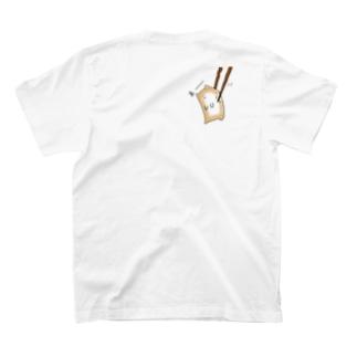 おもち猫のもちね(摘まれもちね) T-shirts
