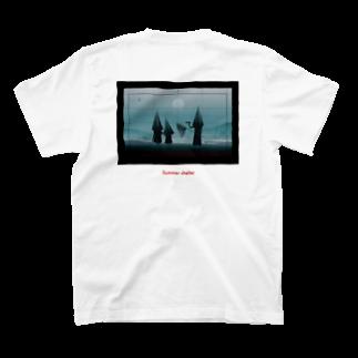 パンチのSummer shelter T-shirts