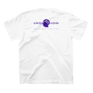IndecisioN back logo T-shirt  T-shirts