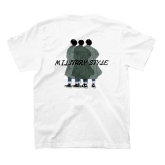 三者三様 T-shirts