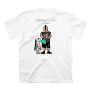 【PUNKS NOT DEAD】両面印刷 背面イラスト大 T-shirts