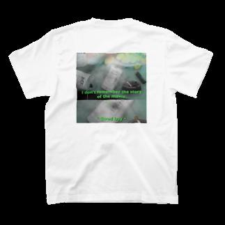 "BoyHoodの""Good bay""(night ver.)Tシャツ T-shirtsの裏面"