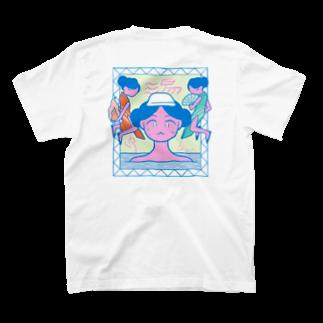 よしだみさこのYUAGARI♨ T-shirtsの裏面