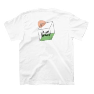 what's whatのEveryone needs a chill space T-shirtsの裏面