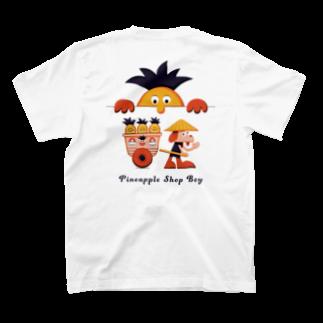 obakのPineapple Shop Boy T-shirtsの裏面