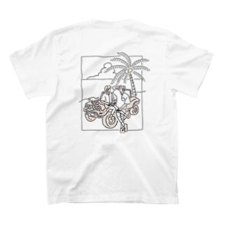 かっけする人される人、夏に。 T-shirts