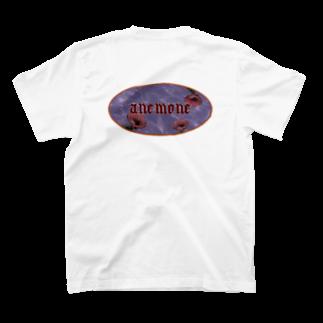 アネモネのアネモネオリジナルTシャツ T-shirtsの裏面